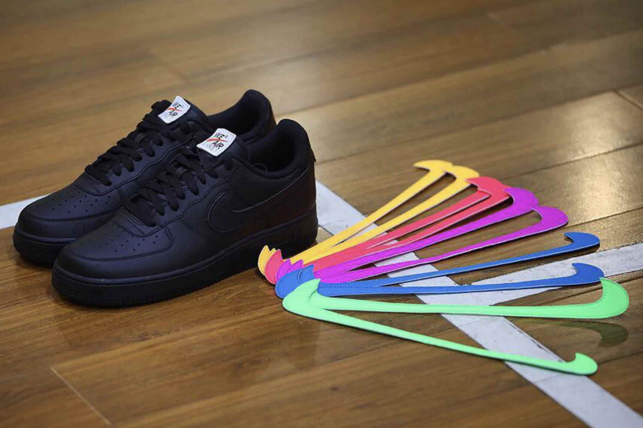d478f14d1a Nike to Release Special Air Force 1 With Removable Velcro Swooshes –  Blurred Culture