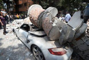 Mexico City Earth Quake is Massive 7.1 Magnitude